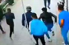 کیف قاپی در اسلامشهر در یک چشم بهم زدن!