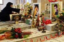 تزئین زیبای گلزار شهدای حزب الله در لبنان بدون یکسان سازی قبور