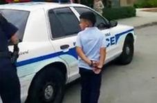 رفتار وحشیانه پلیس آمریکا با کودکان خردسال پناهجو