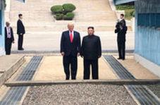 ابراز خوشحالی و تشکر ترامپ از ملاقات با کیم جونگ اون
