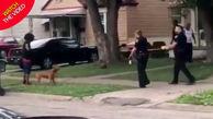 کشتن بیرحمانه سگ بیچاره توسط ماموران پلیس!