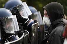 درگیری یک رزمیکار با مامور پلیس