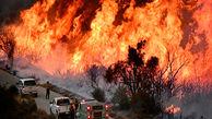 آتش سوزی گسترده پرو از زوایای مختلف+فیلم
