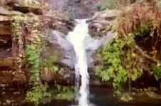 آبشار جداب و دیدنی لولوم در مینودشت