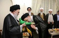 آیین اهداى پرچم آستان قدس رضوى به ٥٠٠ هیات مذهبی کشور و جهان اسلام!