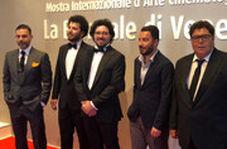 خوشتیپ مثل پیمان معادی، نوید محمدزاده و فرهاد اصلانی در ونیز