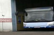 اتوبوس ها هم در روزهای کرونایی ماسک زدند!