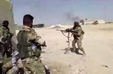 فیلمی از جنگ ترکیه با کردهای سوریه در دو طرف مرز