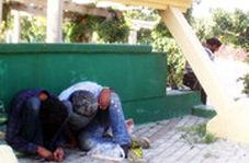 مصرف علنی مواد مخدر در چندقدمی ساختمان شهرداری در تهران!