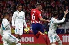 گل اول رئال مادرید به اتلتیکو (کریم بنزما)