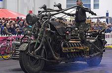 ساخت مینی پارکینگ سیار مخصوص موتور سیکلت