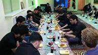 پهن شدن سفره احسان حسینی در پایتخت اوکراین