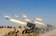 فرود راکت در چند سانتی متری نظامیان صهیونیست