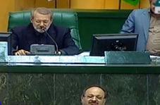شوخی لاریجانی با شریعتمداری وزیر پیشنهادی کار ، رفاه و تامین اجتماعی