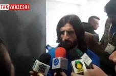اختصاصی/ صحبت های طارق همام بعد از پیروزی برابر نساجی