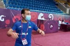 فیلم/ واکنش جالب سرمربی تیم ملی کشتی بعد از پیروز شعبانی