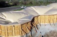 پناهگاههای بادی موقت برای استفاده در شرایط اضطراری
