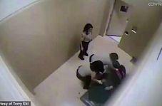 رفتار وحشیانه پلیس با نظامی سابق زن در بازداشتگاه!