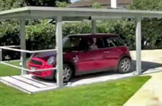 پارکینگ مخفیانه، ایدهای خلاقانه و بسیار کاربردی برای استفاده بهینه از فضا