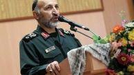 تشییع پیکر شهید حجازی در ستاد فرماندهی کل سپاه