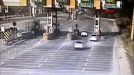 راننده دیوانه فاجعه آفرید / ببینید و انجام ندهید+ فیلم
