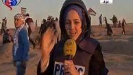 لحظه مجروحیت خبرنگار العالم حین پخش زنده