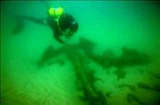 کشف لاشه یک کشتی قدیمی باری در پرتغال!