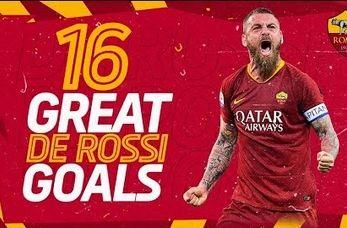 16 گل برتر ده روسی در آ اس رم