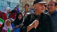 پرویز پرستویی در جمع سیلزدگان خوزستان