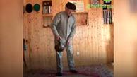 ورزشکار ۹۰ ساله روس سوژه رسانهها شد