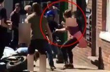 اقدام هوشیارانه زن جوان، سارق مسلح را به دام انداخت