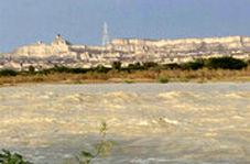 طغیان رودخانه خروشان در سیستان و پلوچستان