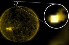 عبور سفینه مرموز مکعبی شکل از نزدیک خورشید خبرساز شد!