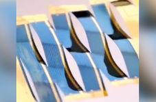 تولید سلول خورشیدی به ضخامت کاغذ!