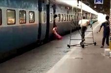 مأمور قطار، ناجی جان مسافر زن شد