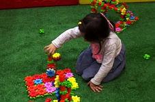 ایجاد فضایی برای سرگرمی و تقویت هوش کودکان در نمایشگاه اسباب بازی