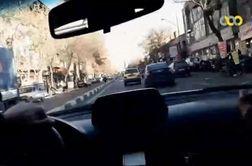 تعقیب و گریز پلیس با سارق خودرو در تهران