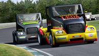 تک چرخ زدن کامیونها در مسابقاتی دیدنی