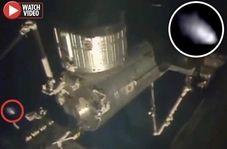 رویت پدیده ای عجیب در نزدیکی ایستگاه فضایی بین المللی!