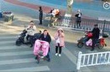 راهکار پلیس چین برای تذکر به شهروندان برای استفاده از ماسک!