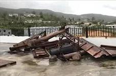 خسارات طوفان یوتو به زیرساختهای جزایر ماریانای شمالی