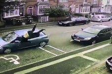درگیری خونین اراذل انگلیسی با قمه در خیابان