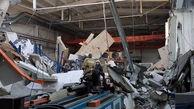 فرو ریختن وحشتناک سقف کارخانهای در مسکو