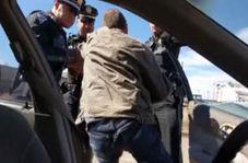 رفتار عجیب پلیس آمریکا با یک راننده متخلف