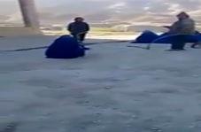 شلاق زدن زنان به دست طالبان + فیلم
