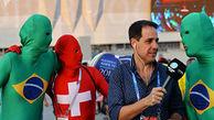 پوششهای عجیب هواداران تیمهای فوتبال در جام جهانی 2018 روسیه + فیلم