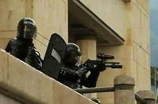 فیلم/درگیری پلیس کلمبیا با دانشجویان معترض