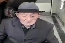 این پیرمرد ۱۰۱ ساله اردبیلی، کرونا را شکست داد!
