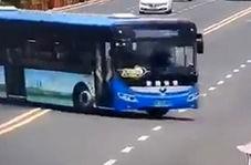 حادثه مرگبار سقوط اتوبوس مدرسه به داخل مخزن