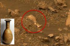 کشف شی عجیب روی مریخ!